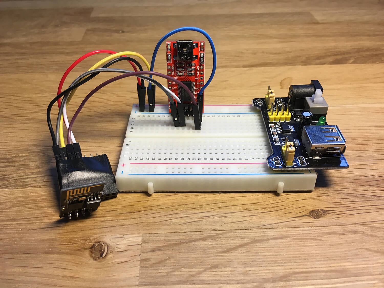 ESP8266 ESP-01 Flashing kit